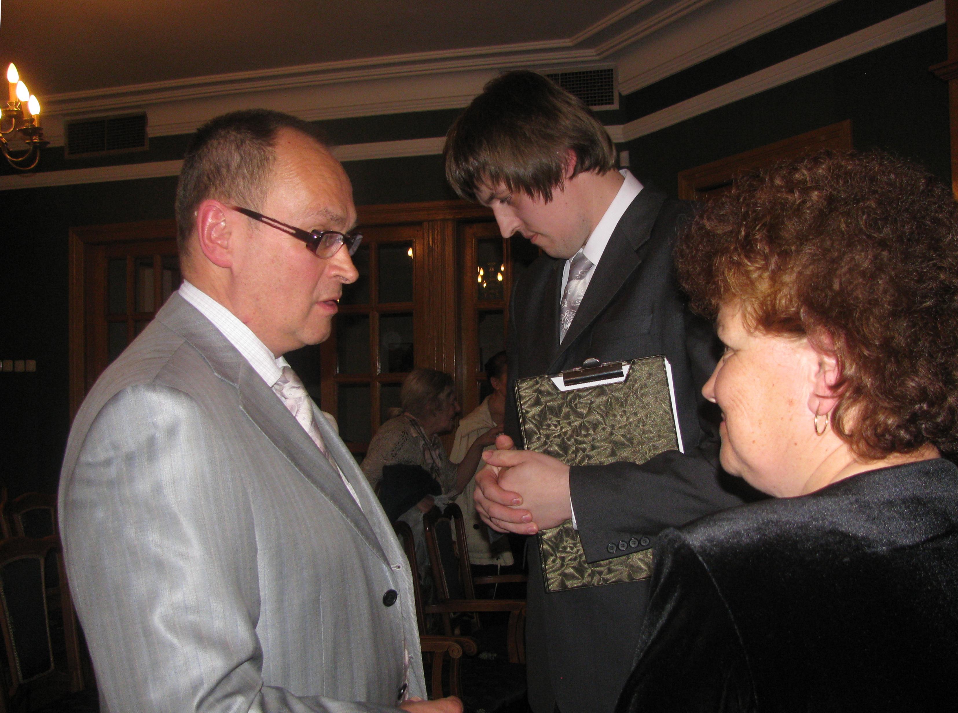 Краснов, Ольга и Кирилл