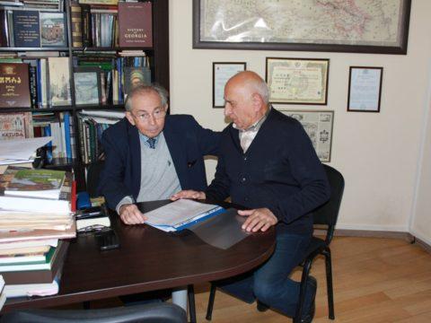 Подписан меморандум о сотрудничестве МГП и еврейского музея в Тбилиси